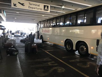 320 Nigerians spotted heading to the airport for their flight back to Nigeria lindaikejisblog 3