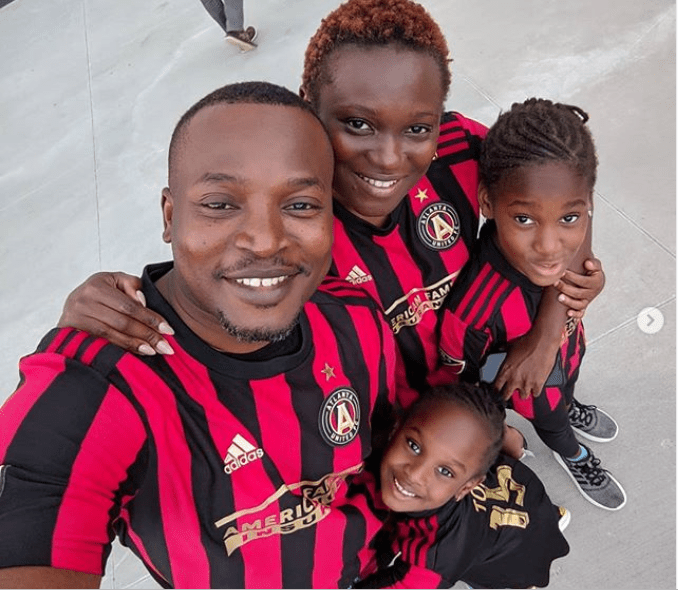 Adorable photos of Eldee The Don and his family as they step out together