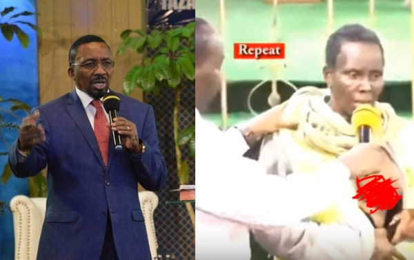 Kenyan Pastor punished by government for exposing breast of woman he claimed he was delivering from cancer on Live TV lindaikejisblog