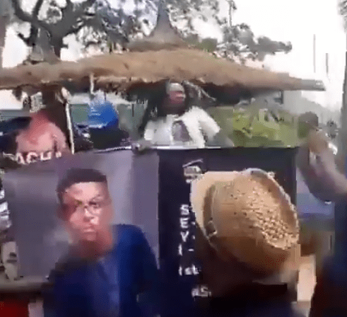 #BBNaija: Team Tacha and Team Seyi clash in Lagos (video)