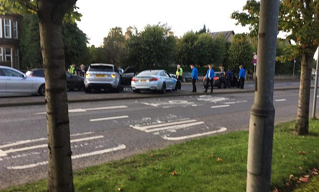 Footballer Jermain Defoe involved in three-car crash in Scotland (Photos)