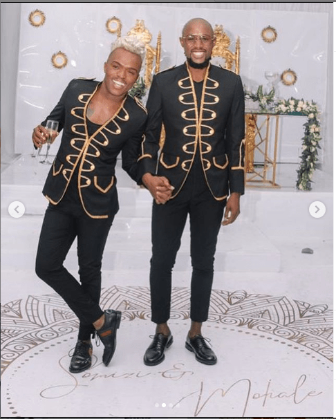 South African gay media personality, Somizi shares more photos from his traditional wedding?