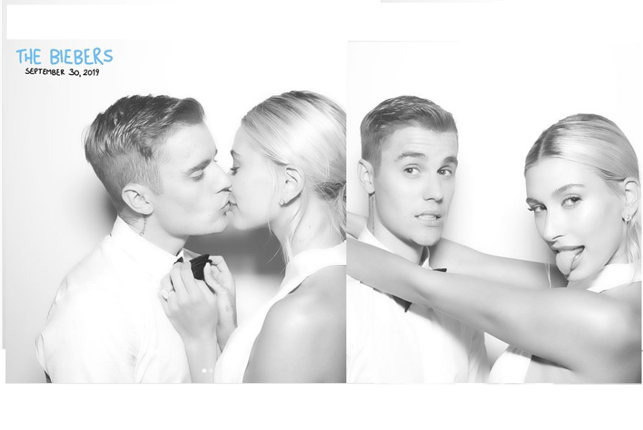 'My bride is fire' - Justin Bieber gushes over his Hailey Bieber as he shares lovely photos from their lavish wedding ceremony