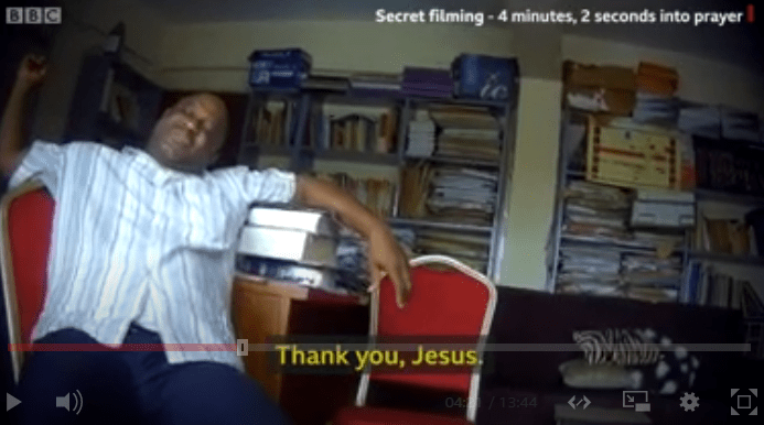 Sex for grades: BBC exposes Unilag lecturer/pastor caught in the act as he propositioned student for sex (video)
