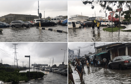Now we must?learn how to swim - Lagosians react as heavy downpour leaves some parts of state flooded