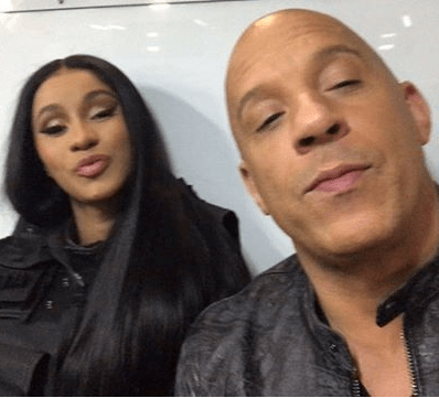 Cardi B will appear in 'Fast & Furious 9' (video)