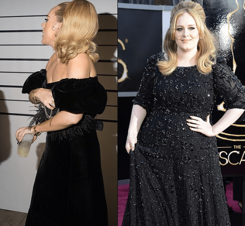 Singer Adele shows off incredible weight loss at Drake's ...