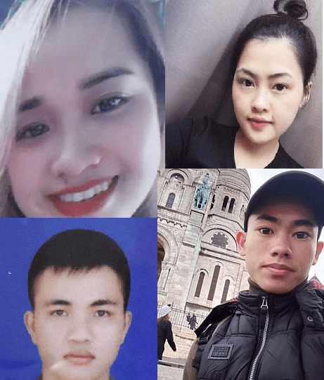 Faces of migrants found dead in a truck in Essex revealed as families name their children among 39 victims