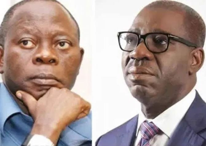 It?s shameful that we were attacked in your house - Governor?Obaseki fires at Oshiomhole