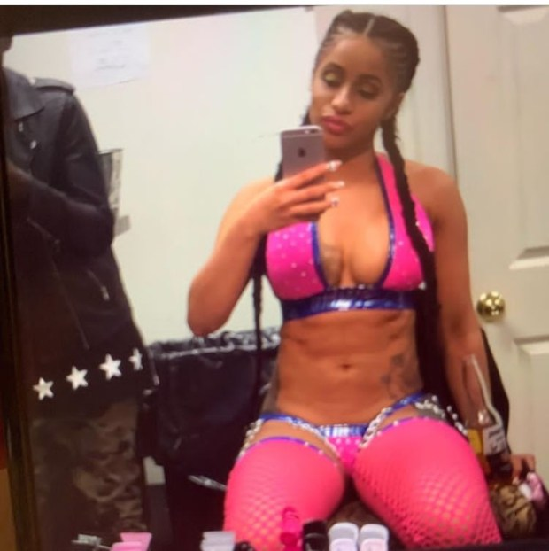 Cardi B shares photos from her days as a stripper as she jokingly contemplates going back to that life
