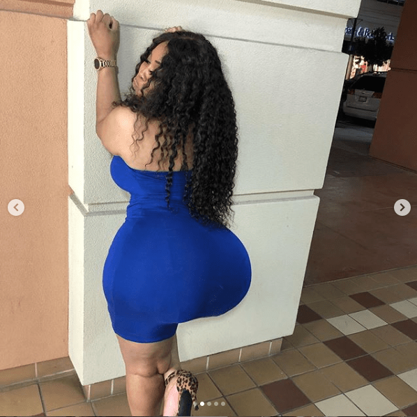 Meet Jaye Love, the Instagram model with jaw-dropping backside who claims it