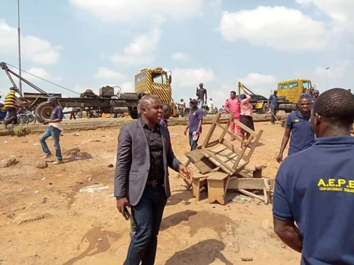 Chairman of FCT Ministerial Task Team attacked (photos)