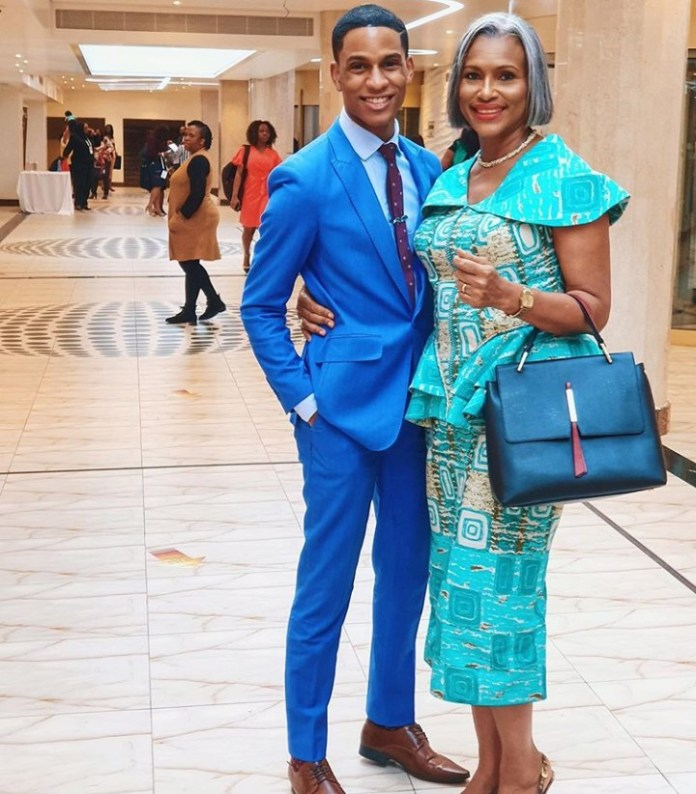 Actor Denola Grey shares his mother