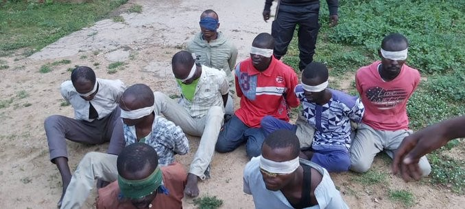 16 Boko Haram terrorists surrender to Nigerian Army after being outgunned