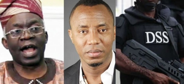 Our lawyers spent 4 hours waiting to receive Sowore — Falana slams DSS over claims of no one coming to pick Sowore