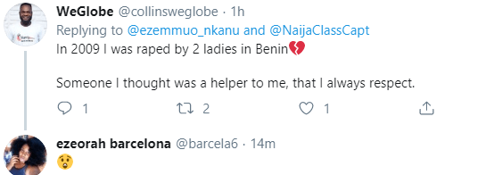 Nigerian chef recounts how he was raped by three girls in his 2nd year in the University
