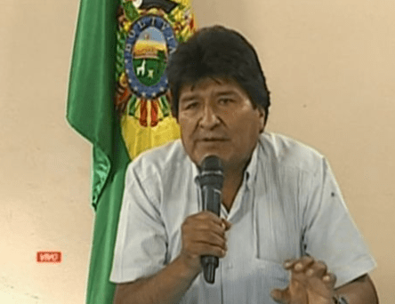 Bolivian President Evo Morales resigns as controversy trails his re-election