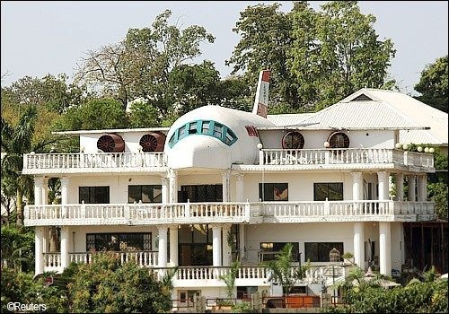 Image result for True story behind the Aeroplane House in Abuja
