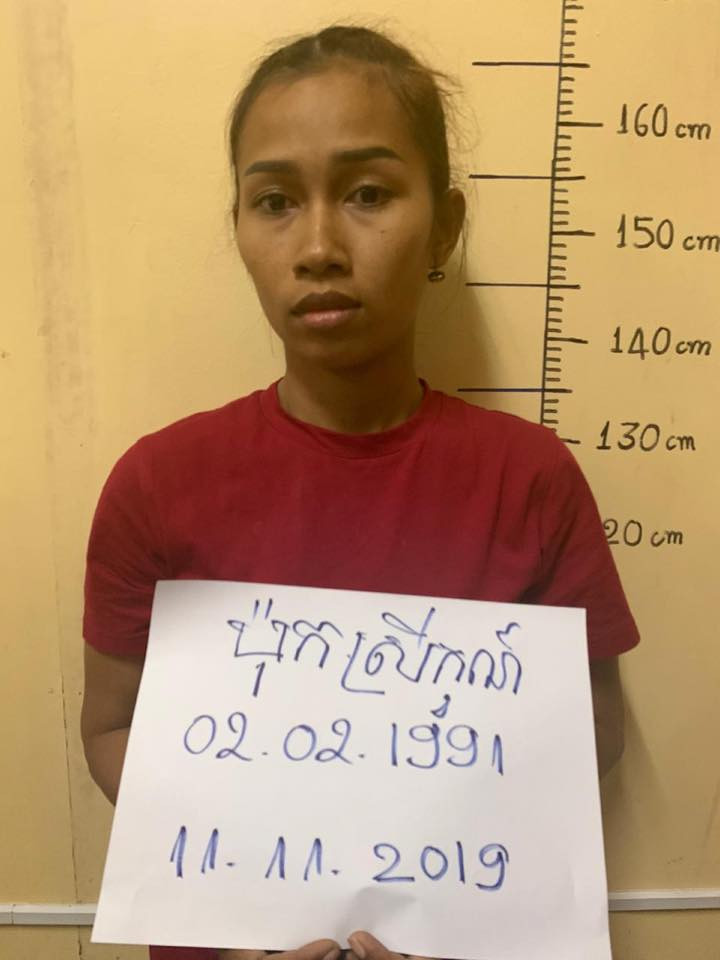 Nigerian footballer, two women arrested in Cambodia for smuggling drugs from Vietnam in a speaker (photos)