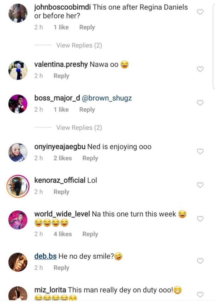 Nigerians react as new video of Regina Daniel