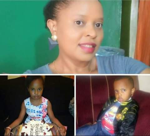 Kenyan military officer arrested for murder after bodies of his missing wife and two children were recovered in a shallow grave