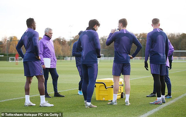 Photos of Jose Mourinho?s first training session as new head coach of?Tottenham?Hotspur