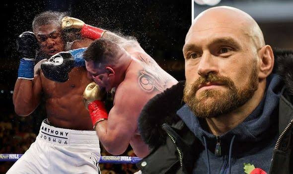 The ?little fat pig? Andy Ruiz Jr who murdered every doughnut in California will beat Anthony Joshua again- Tyson Fury says ahead of rematch