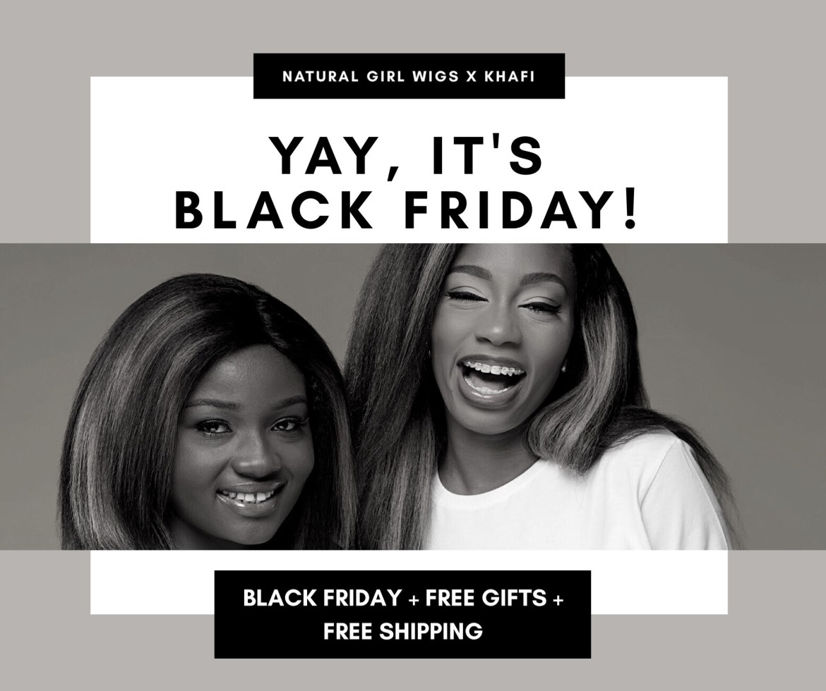 The Black Friday Deal for all Black women!!