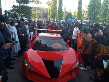 25-year-old Nigerian man manufactures Nigeria