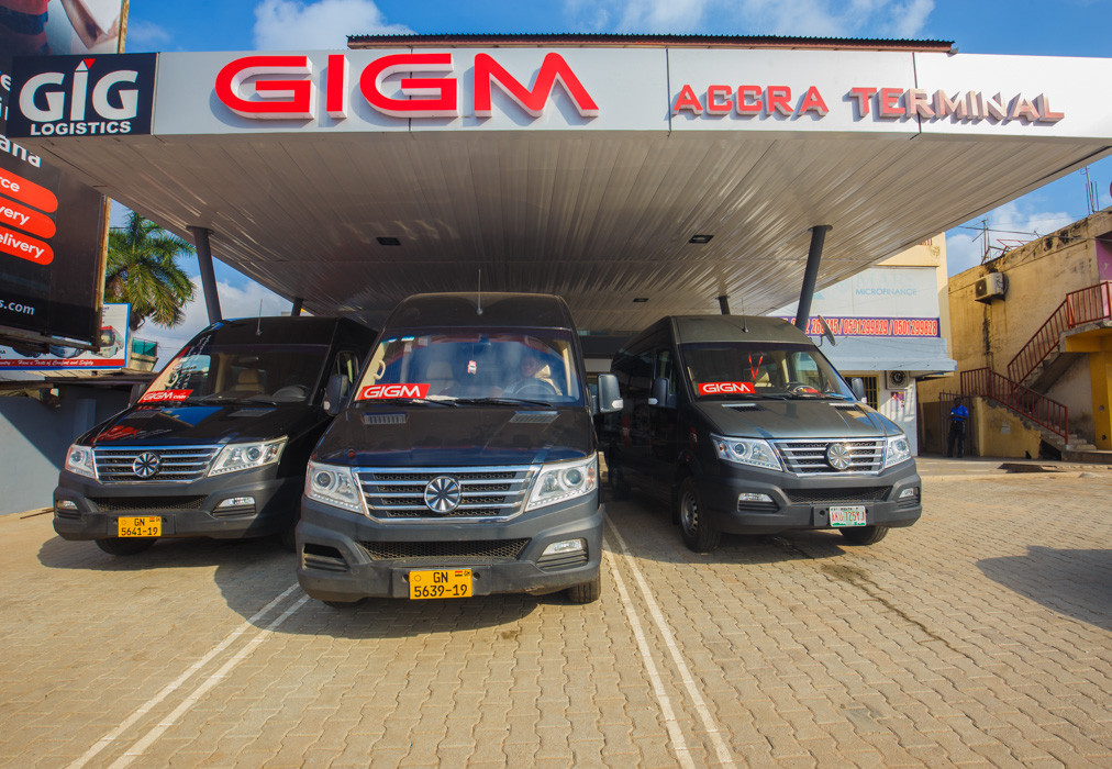 GIGM Launch in Ghana, powers transportation with technology