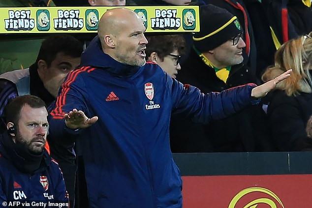 Caretaker manager Freddie Ljungberg says Arsenal can still