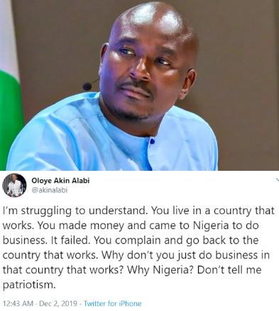 Lawmaker, Akin Alabi