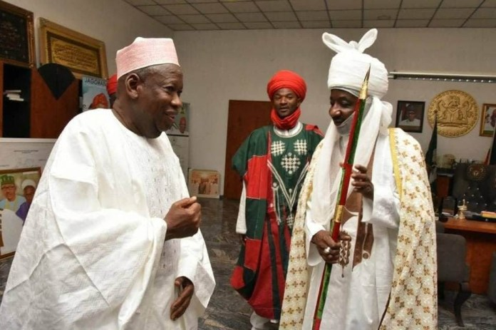 Send account details for N4.5m compensation for your demolished N250m property ? Ganduje?s government tell Sanusi