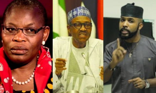 Buhari should instruct the DG to release Sowore immediately – Oby Ezekwesili, BankyW, react to Sowore's rearrest