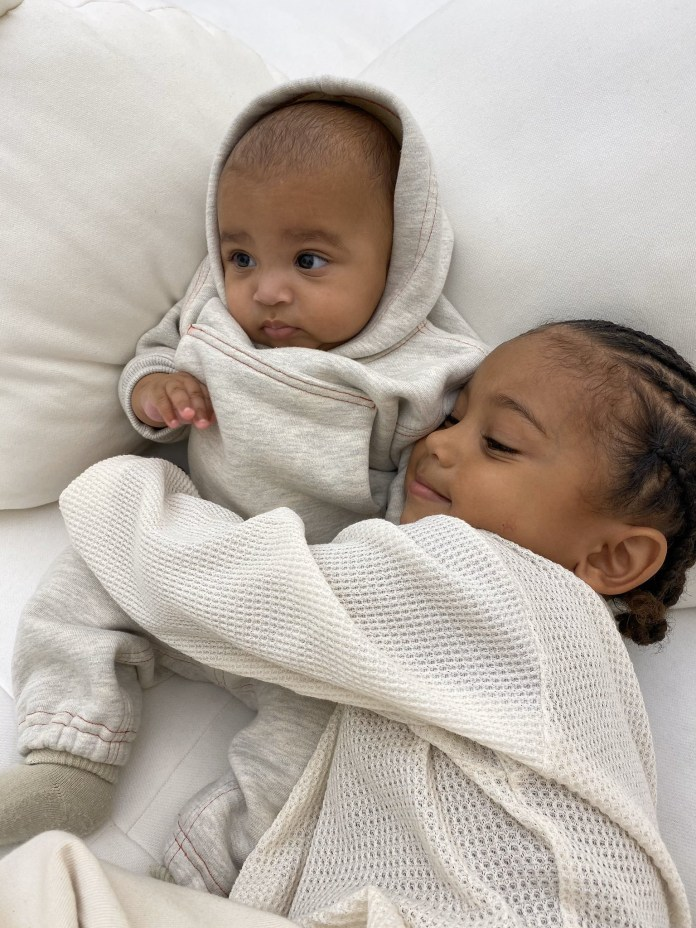 Kim Kardashian shares adorable new photos of her sons, Saint and Psalm West