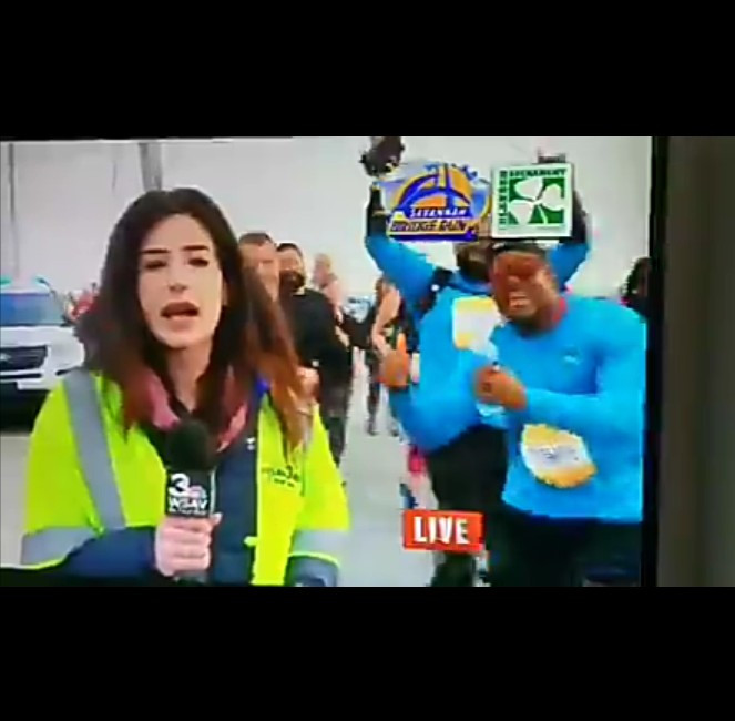 TV reporter speaks up after man smacked her butt on live TV (video)