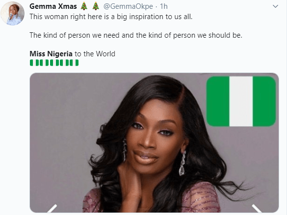 Most Beautiful Girl of Nigeria is trending and here is the reason why