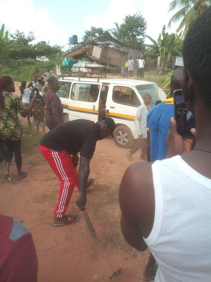 Man banished for impregnating daughter twice in Anambra (photos)