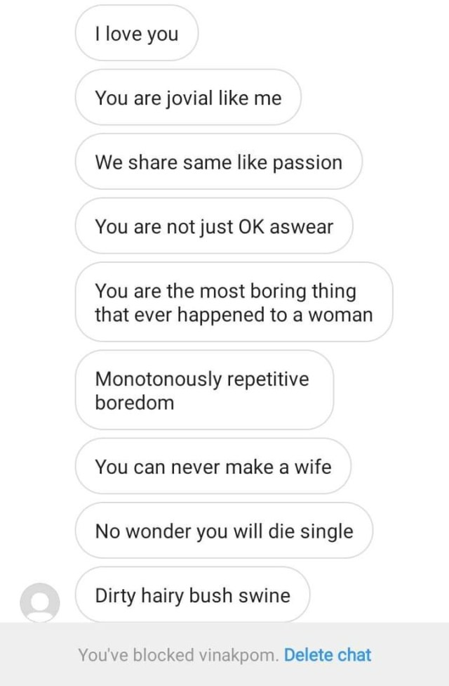Nigerian writer shares screenshots of the awful messages a man sent to her in an attempt to shoot his shot