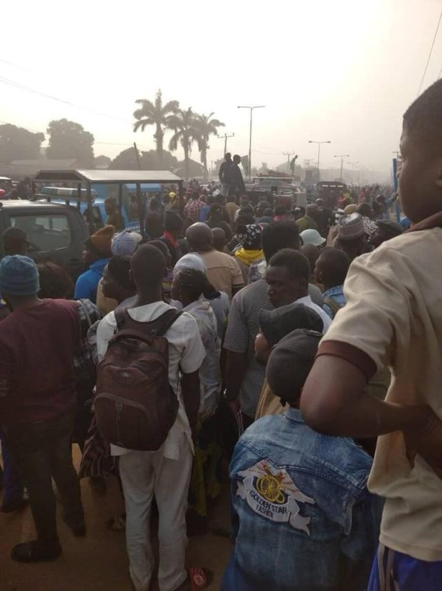 Many feared dead as gas explosion rocks Kaduna (photos)