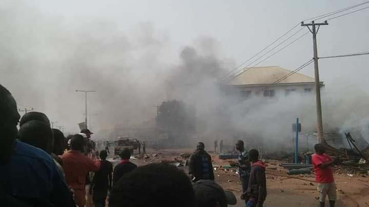 Many feared dead as gas explosion rocks Kaduna (photos)