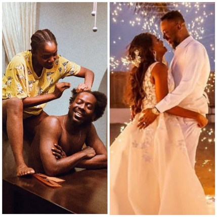 No one is more in sync with me than you - Simi tells Adekunle Gold as they celebrate 1st wedding anniversary