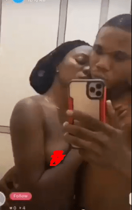 Nigerian couple go nude on social media in live video