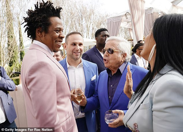 Roc Nation Pre-Grammy Brunch photos: Jay-Z, Beyonce, Rihanna, Diddy and many more in attendance