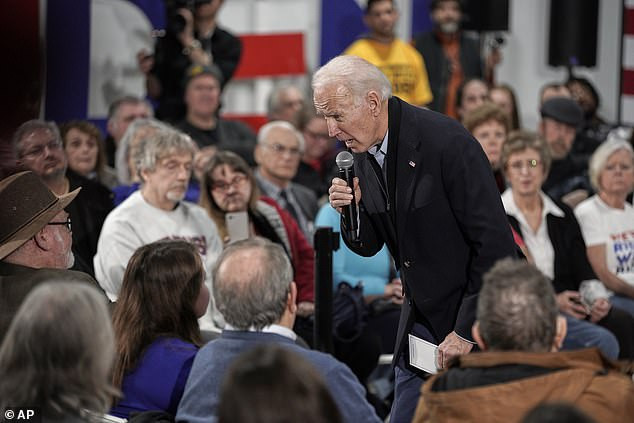 77-year-old Joe Biden says he needs a VP who can