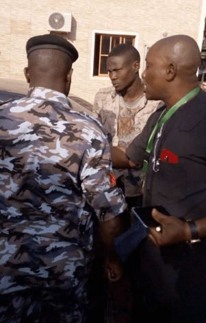 Suspected suicide bomber apprehended at Bishop Oyedepo