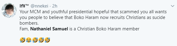 FFK, others react after police reveal suicide bomber who was apprehended at Bishop Oyedepo