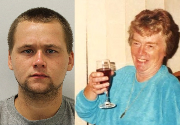 Man, 23, jailed for life for sexually assaulting and murdering an 89-year-old widow after breaking into her home
