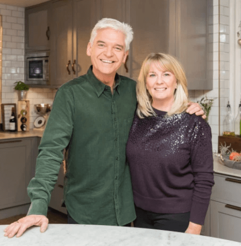 Philip Schofield's wife breaks her silence after her husband came out as gay after 27 years of marriage