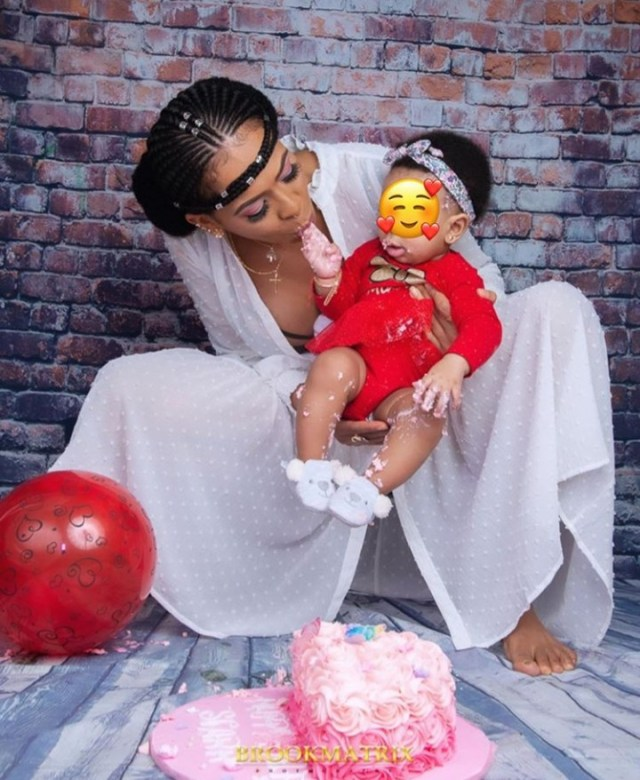 T-Boss celebrates her daughter as she turns 6 months